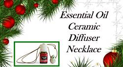 Pausitive Living: Essential Oil Ceramic Diffuser Necklace Giveaway